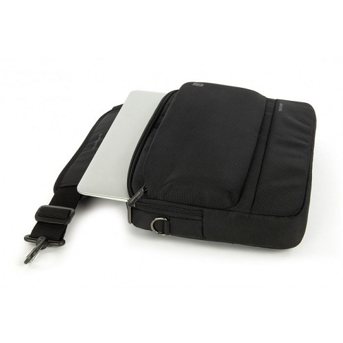 TUCANO Dritta Slim for 15 inch [BDR15] - Black - Notebook Shoulder / Sling Bag